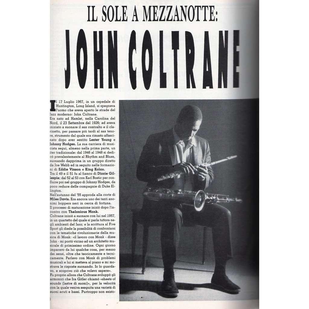 John Coltrane Buscadero (N.74 Oct. 1987) (Italian 1987 music magazine)