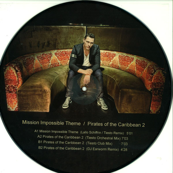 Mission impossible-pirates of the caribbean 2 - 12' by Tiesto, 12inch with  mod