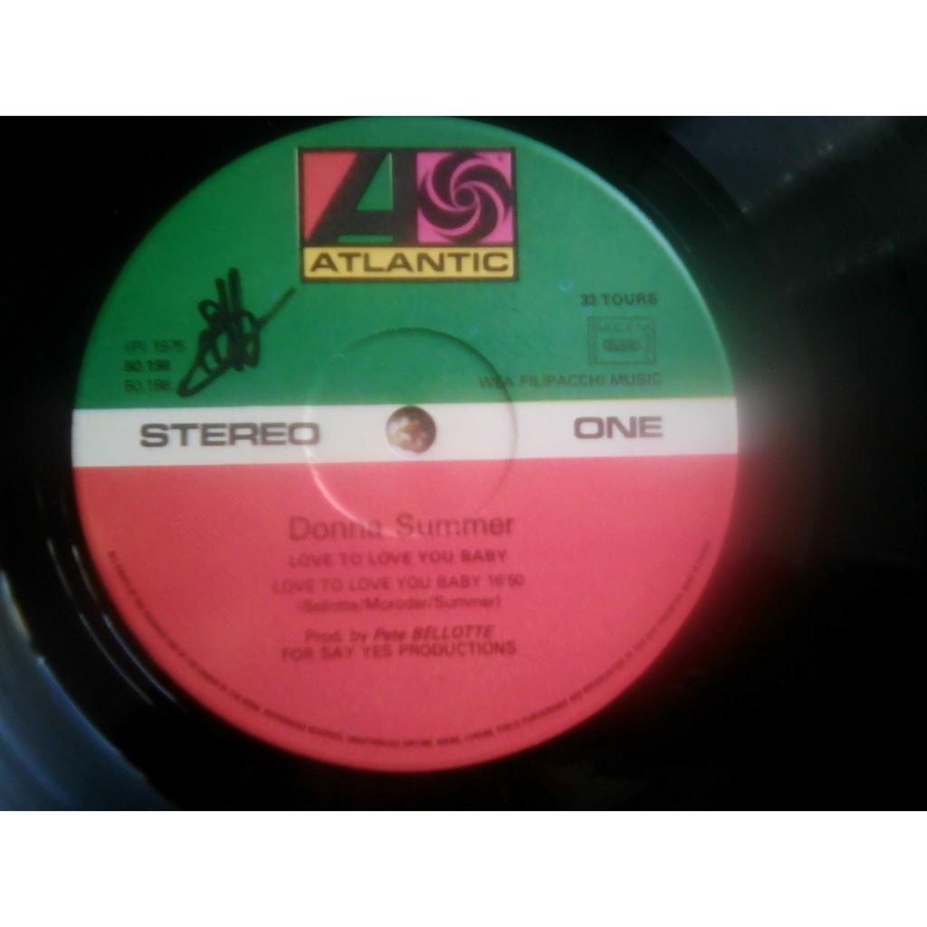 Donna Summer - Love To Love You Baby (LP, Album, S Donna Summer - Love To Love You Baby (LP, Album, S/Edition)