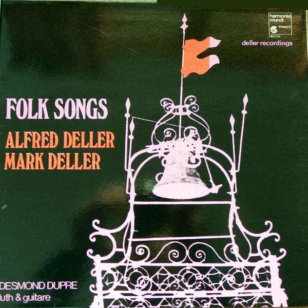 alfred deller & mark deller Folk songs