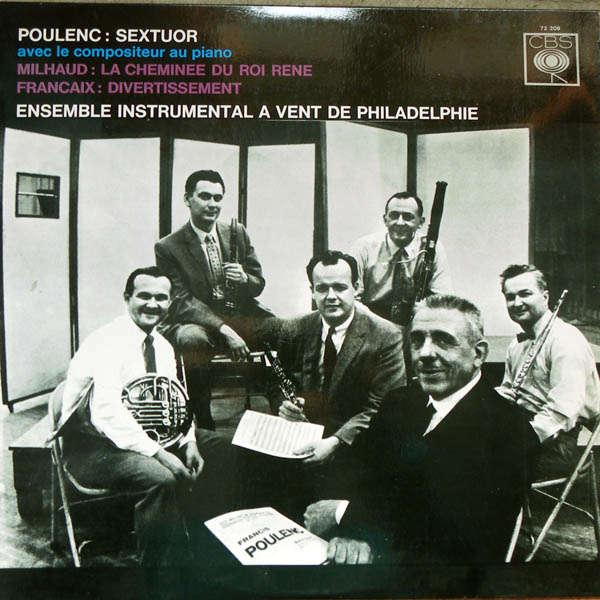 Ensemble instrumental de Philadelphie francis Poulenc