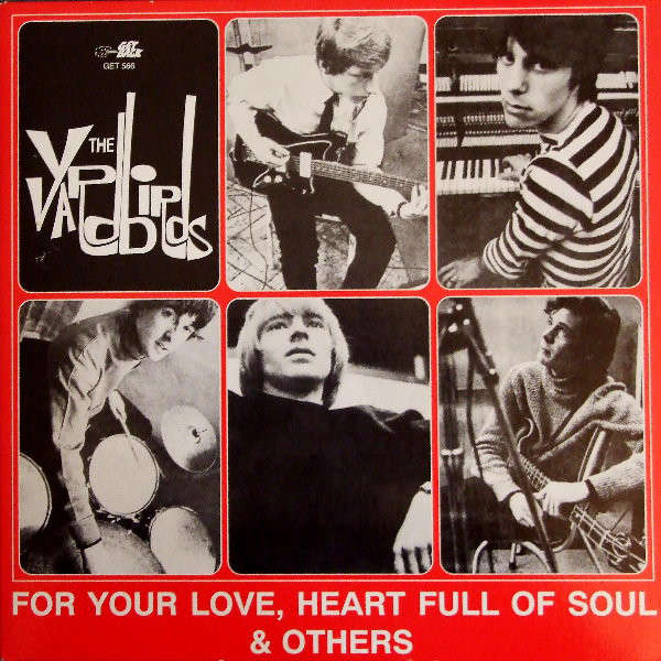 for your love heart full of soul others by the yardbirds lp x 4