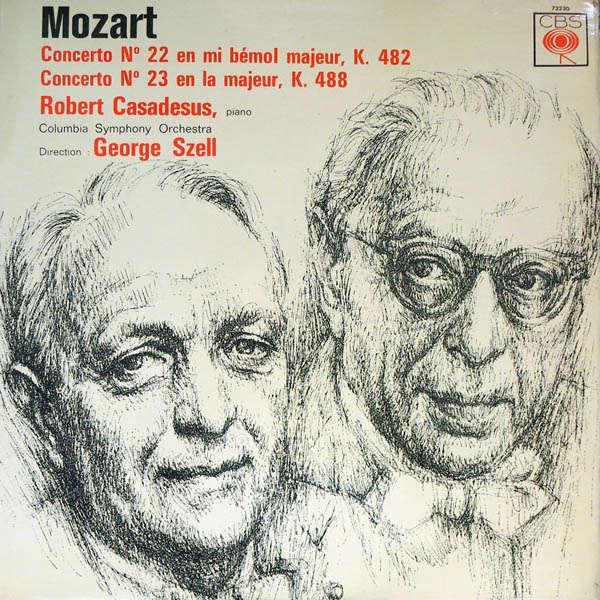 Robert Casadesus Mozart : Concerto piano n°22 & n°23
