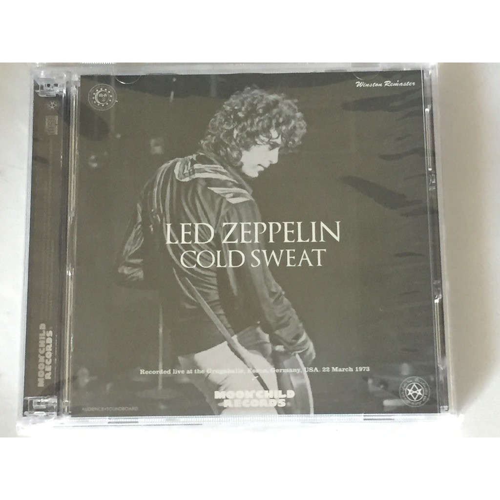 LED ZEPPELIN COLD SWEAT
