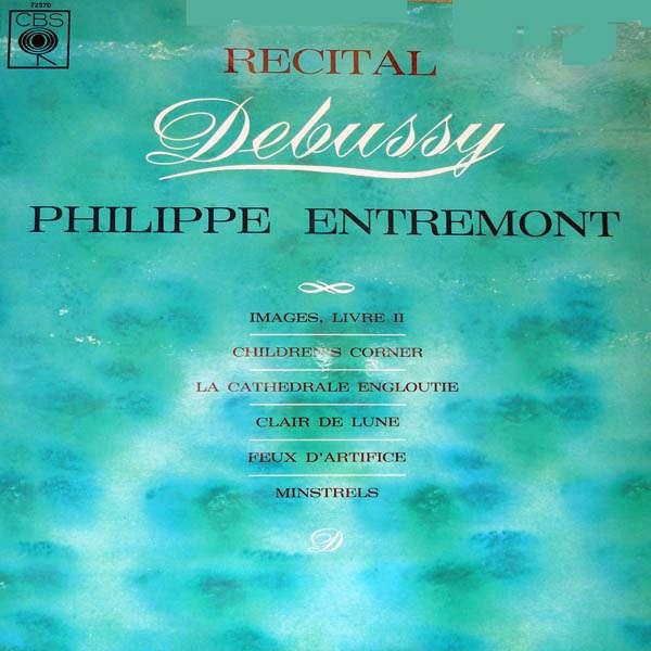 philippe entremont Récital Debussy
