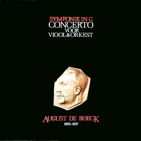 Filharmonisch Orkest De Boeck : Symphonie in G, Concerto pour violon