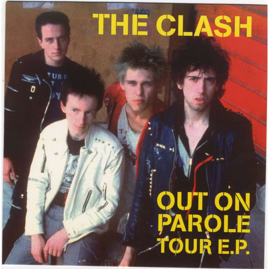 Clash Out On Parole Tour EP Clear Vinyl