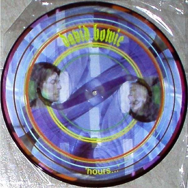 David Bowie Hours (USA 1999 Ltd 10-trk promo LP Picture Disc pvc slv)