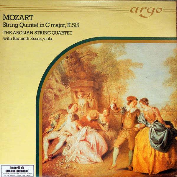The Aeolian String Quartet Mozart : String quintet in C major
