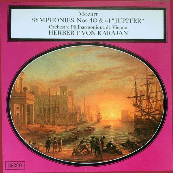 herbert von karajan Mozart : Symphonies n°40 & 41