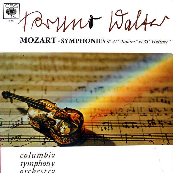 bruno walter columbia symphony orchestra Mozart : Symphonies n°41 & 35