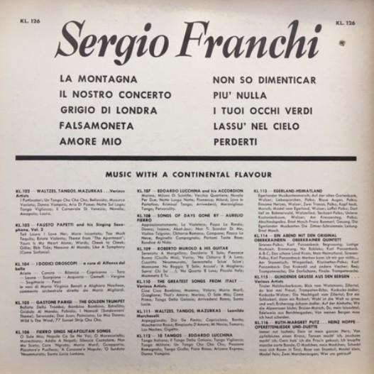 sergio franchi sergio franchi - la montagna