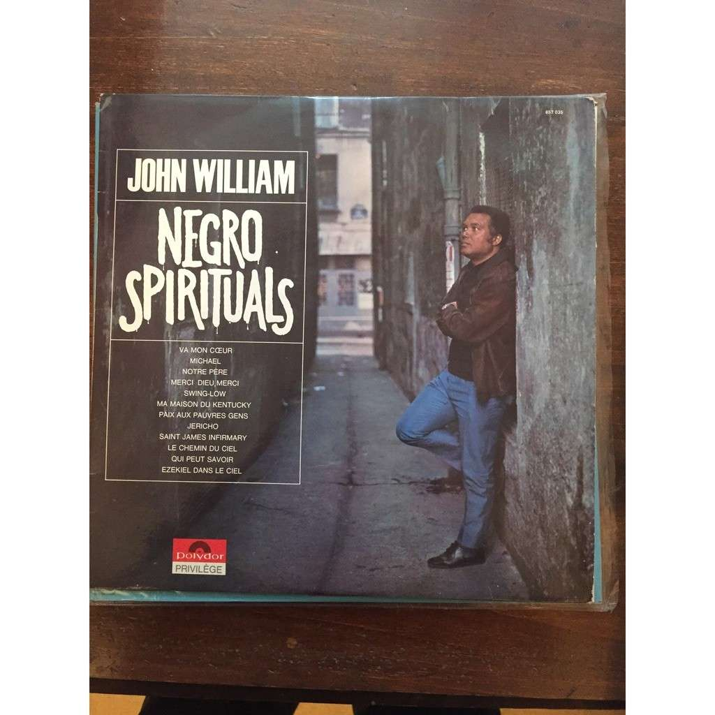JOHN WILLIAM NEGROS SPIRITUALS