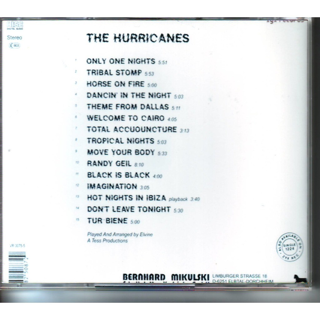 The Hurricanes Tropical Nights