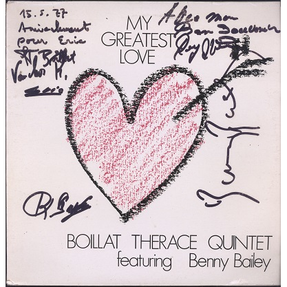 Boillat Therace Quintet My greatest love
