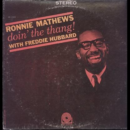Ronnie Mathews Doin' the thang !
