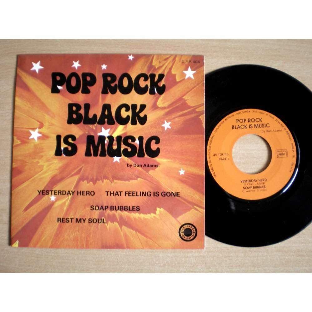 Don Adams Pop Rock Black Is Music