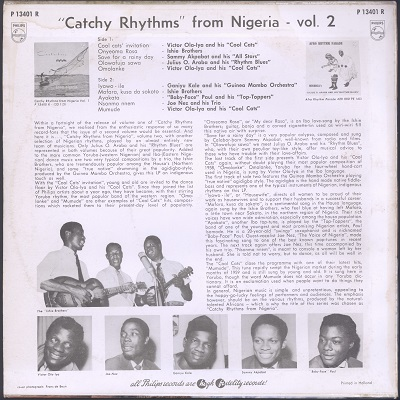 Catchy Rhythms from Nigeria vol.2 (various)