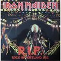 IRON MAIDEN - R.I.P. Rock in Portland (lp) Ltd Edit Colored Vinyl With Poster -U.S.A - 33T