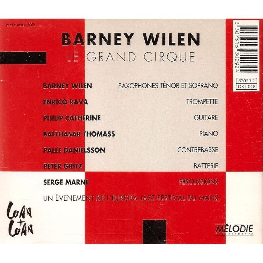 Barney Wilen Le Grand Cirque