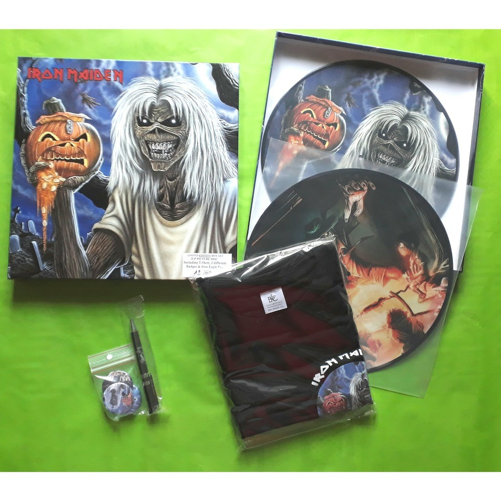 Iron maiden (limited édition)(Box)(Deluxe édition)(3LP picture disc vinyl)(Numbered édition 60 copies)(US)