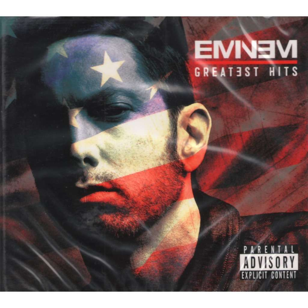 Greatest Hits By Eminem Cd X 2 With Techtone11 Ref