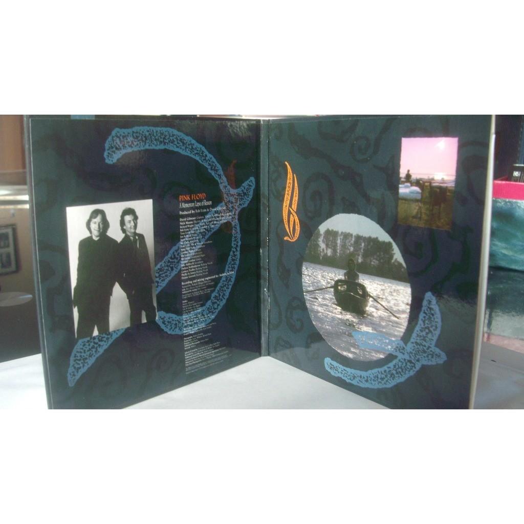 Pink Floyd A Momentary Lapse Of Reason-POCHETTE CARTONNEE.CD