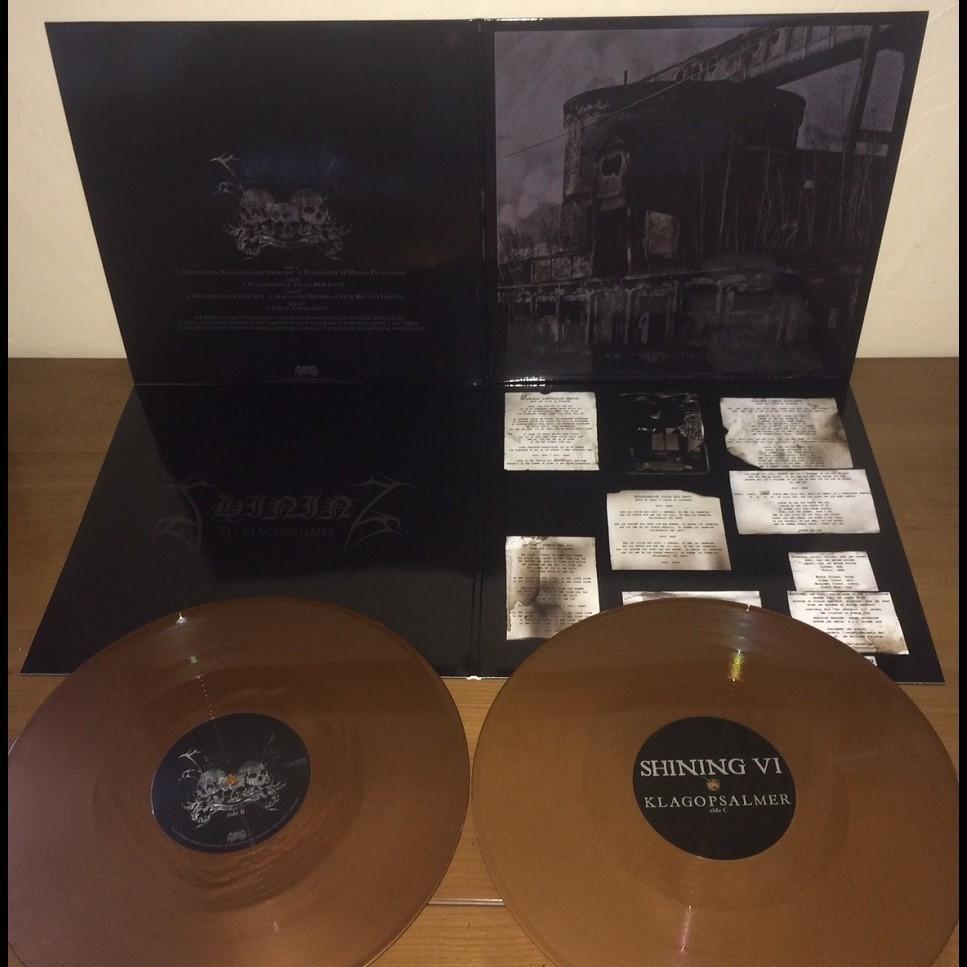 SHINING VI- Klagopsalmer. Bronze Vinyl