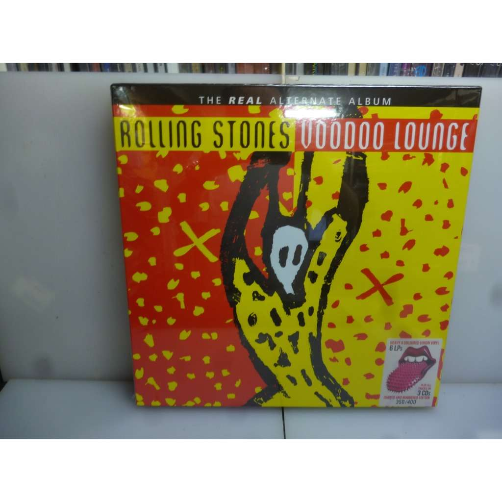 Rolling Stones Real Alternate Voodoo Lounge-Japan 2018 Ltd to 400 6 Coloured Vinyl LP+3CD Boxset.