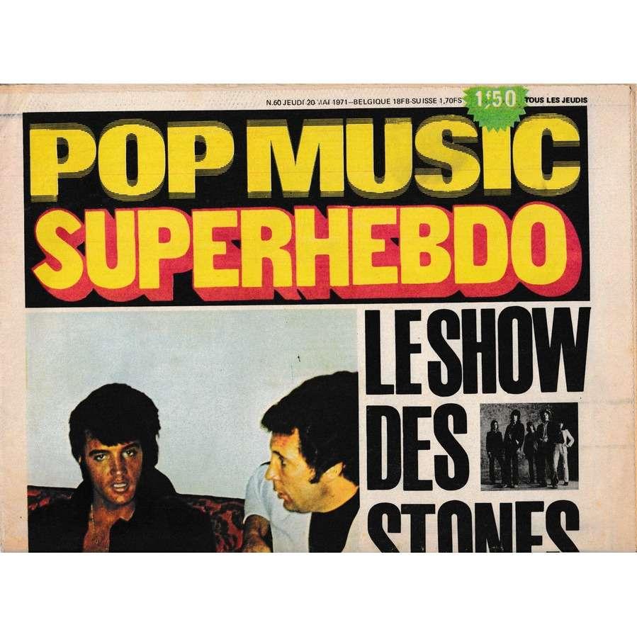 Mickey Baker / Pop Music Superhebdo Pop Music Superhebdo n° 60 - Mai 1971.