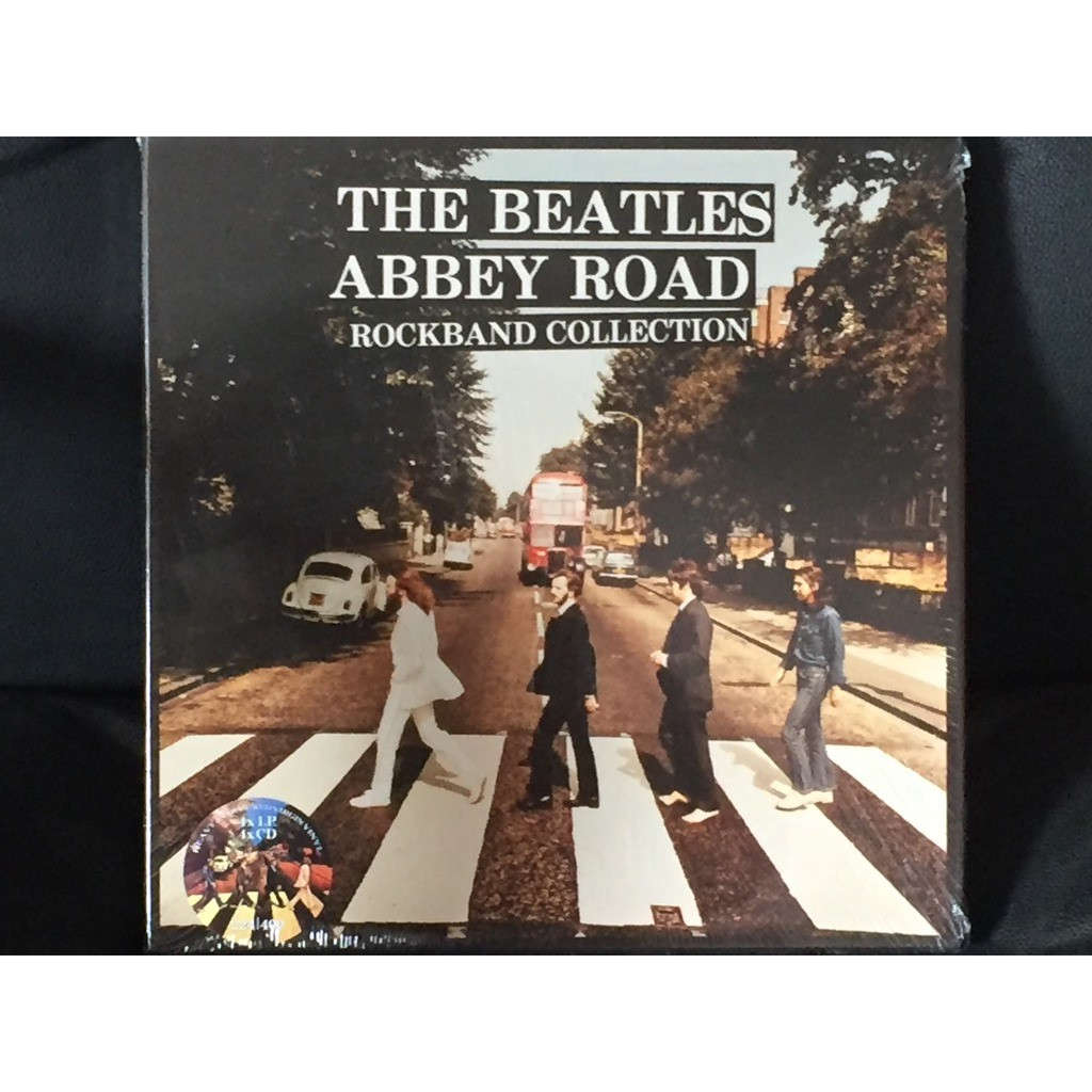 THE BEATLES ABBEY ROAD ROCKBAND COLLECTION