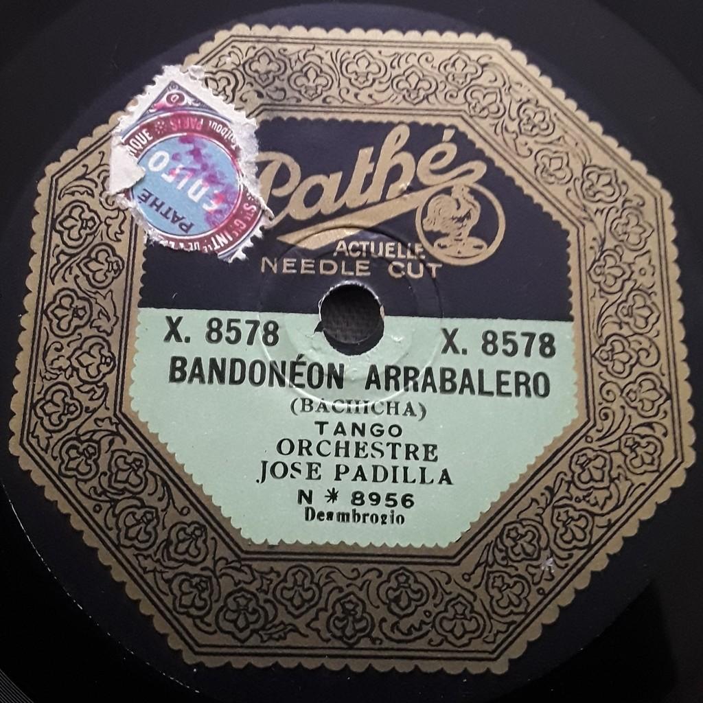 Orchestre José Padilla Obsession -:Bandoneon Arrabalero