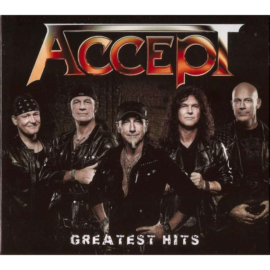 Accept Greatest Hits 2 CD New And Sealed Worldwide Free Shipping