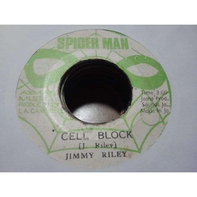 JIMMY RILEY / SKIN, FLESH AND BONES CELL BLOCK / VERSION ORIG.