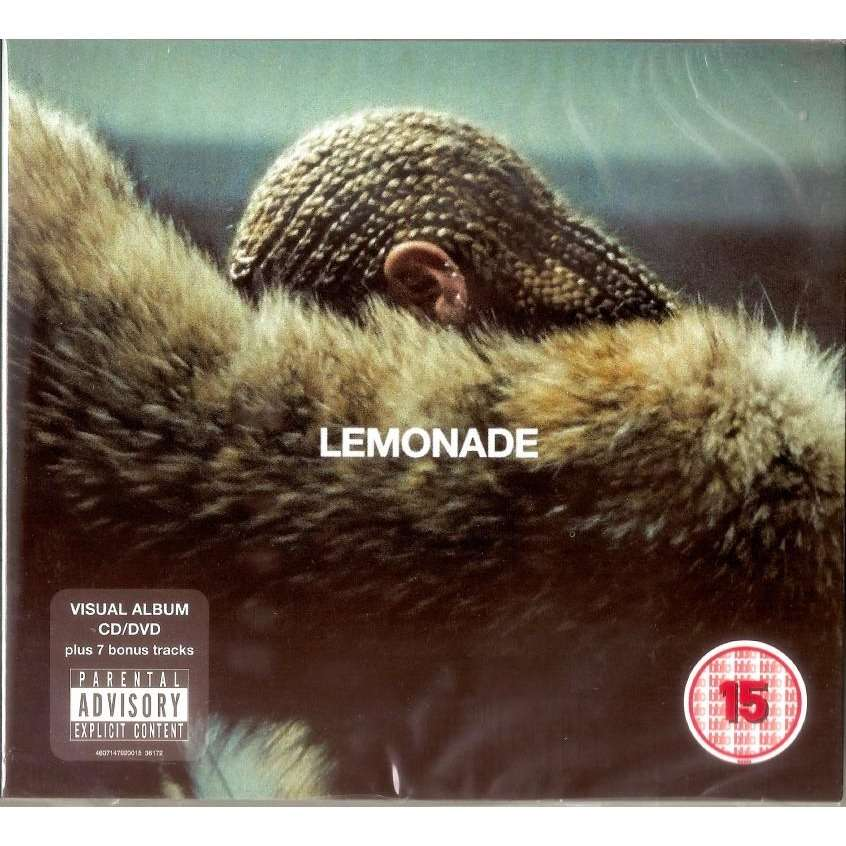 Beyonce Lemonade CD (with 7 bonus tracks) + DVD New And Sealed Worldwide Free Shipping