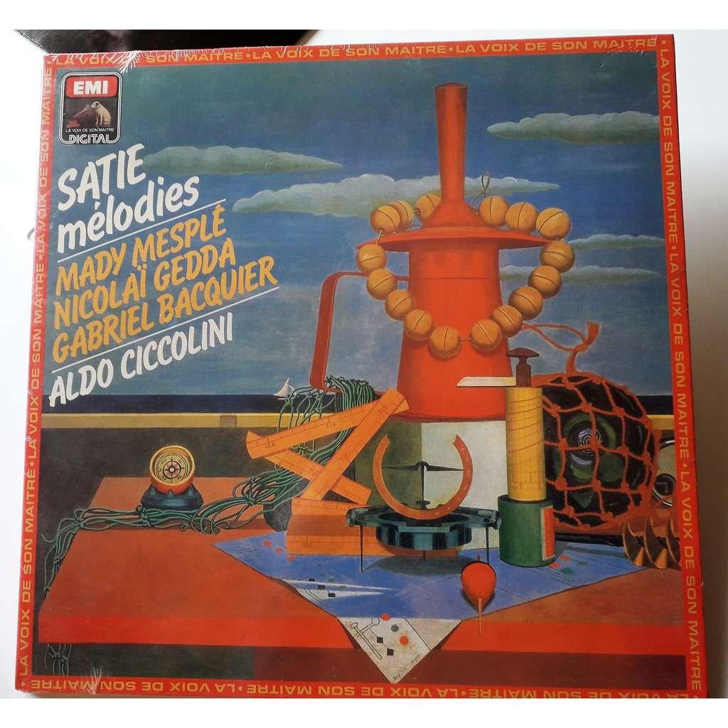 aldo ciccolini Satie : Mélodies