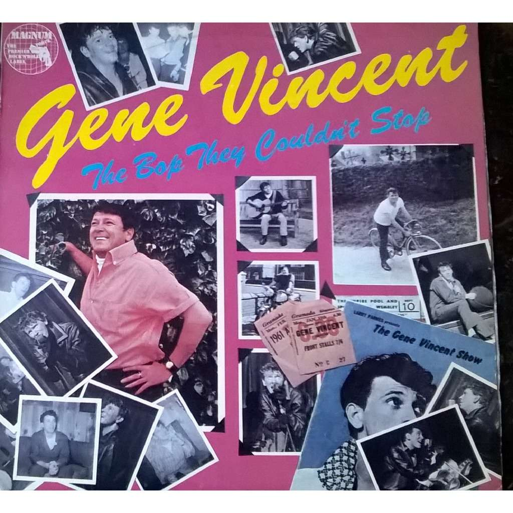 GENE VINCENT THE BOP THEY COULDN'T STOP