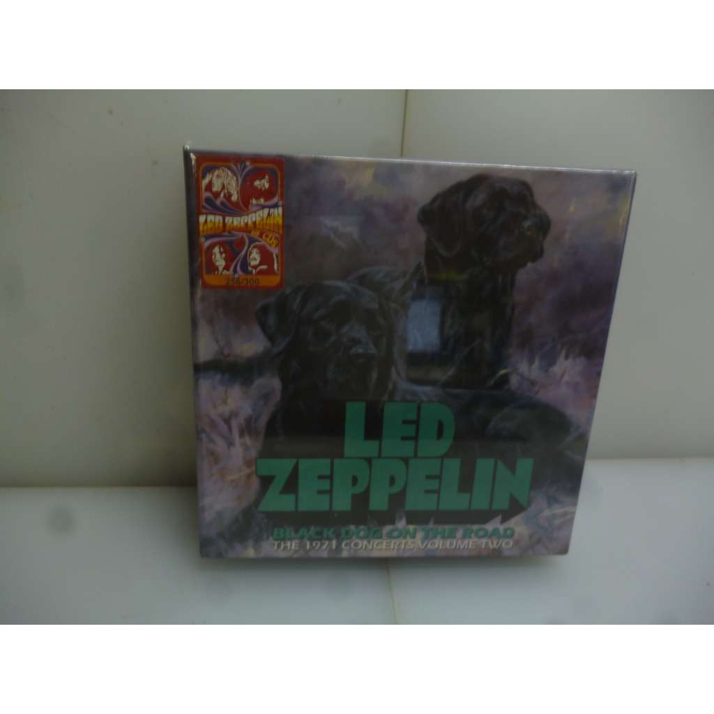 Led Zeppelin Black Dog On The Road  The 1971 Concerts Volume Two  EU 2017  Ltd To 300 18CD Boxset