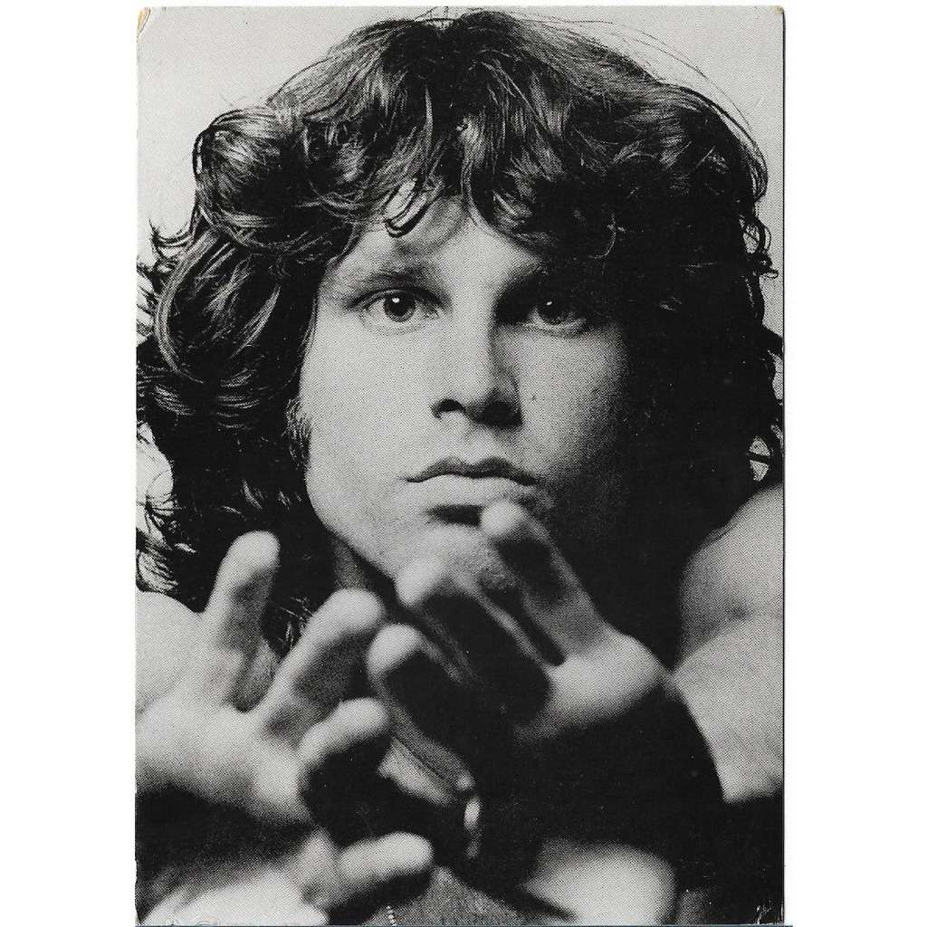 The Doors By Jim Morrison Postal Card With Libertemusic
