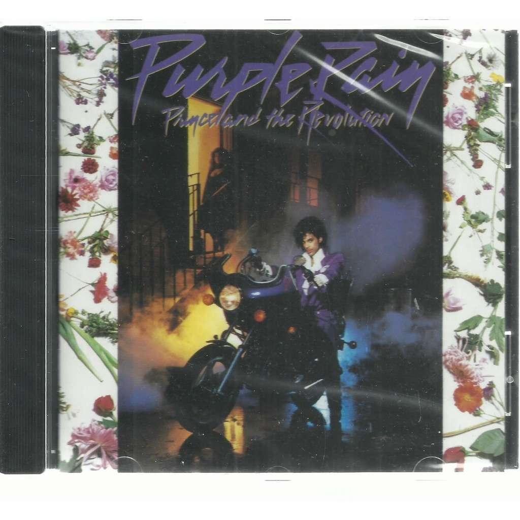 PRINCE & THE REVOLUTION purple rain