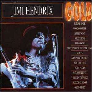 Hendrix Jimi Gold