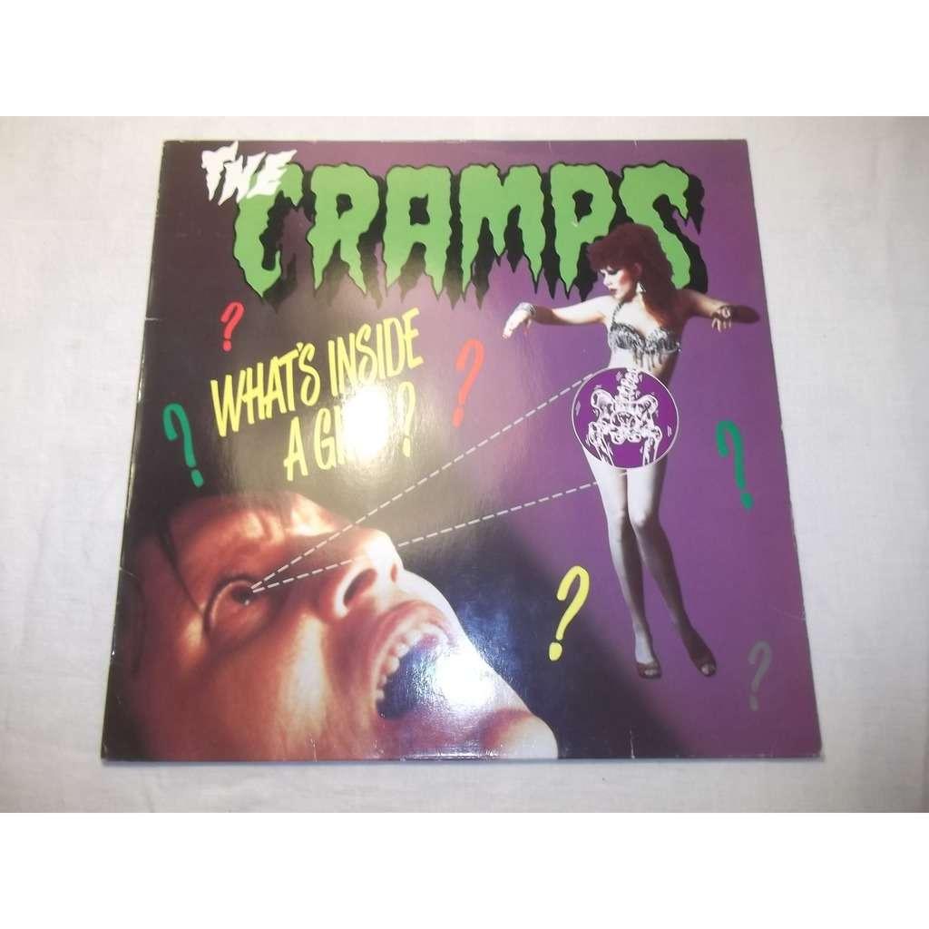 Where do girls get cramps