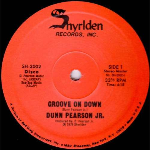 dunn pearson jr. groove on down