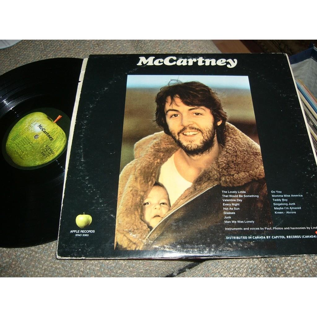 Mc cartney (pressage england) - Paul Mccartney - ( LP ) - 売り手 ...