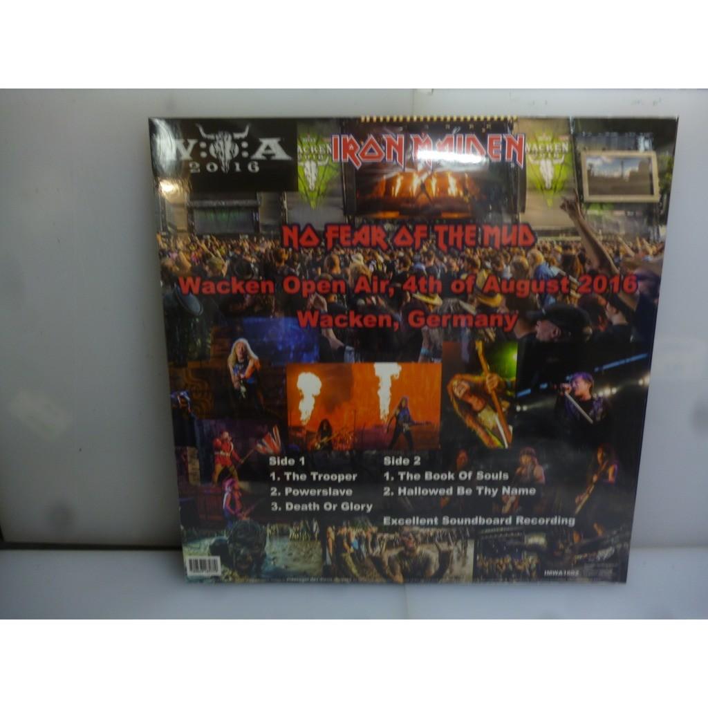 Iron Maiden No Fear Of The Mud. Wacken Open Air, Wacken, Germany 2016. EU 2016 Red Vinyl LP.