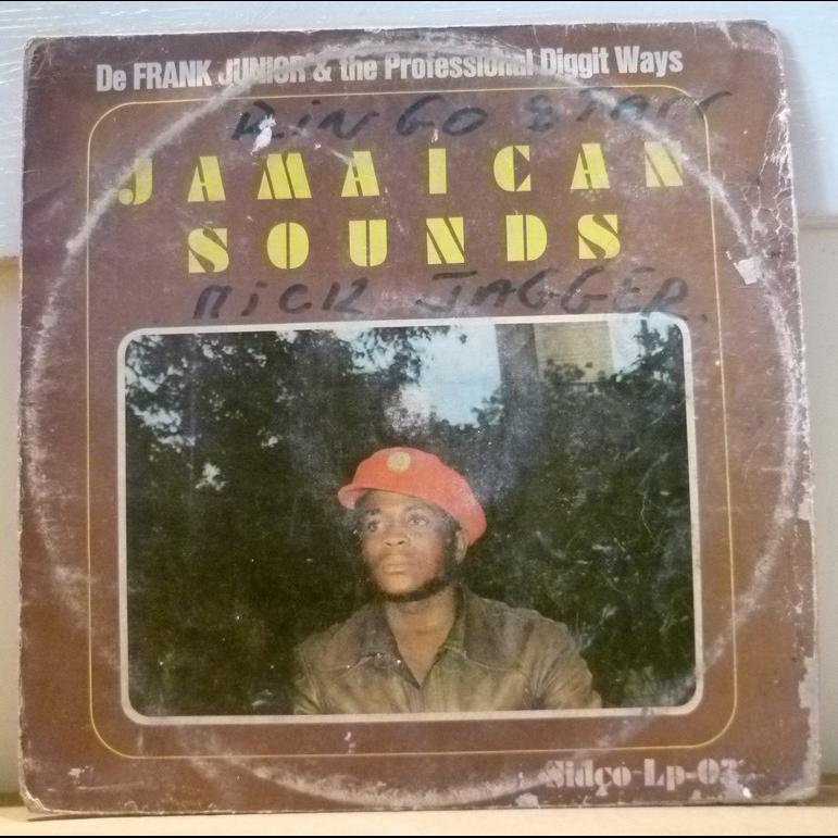 DE FRANK JUNIOR & the Professional diggit ways Jamaican sounds