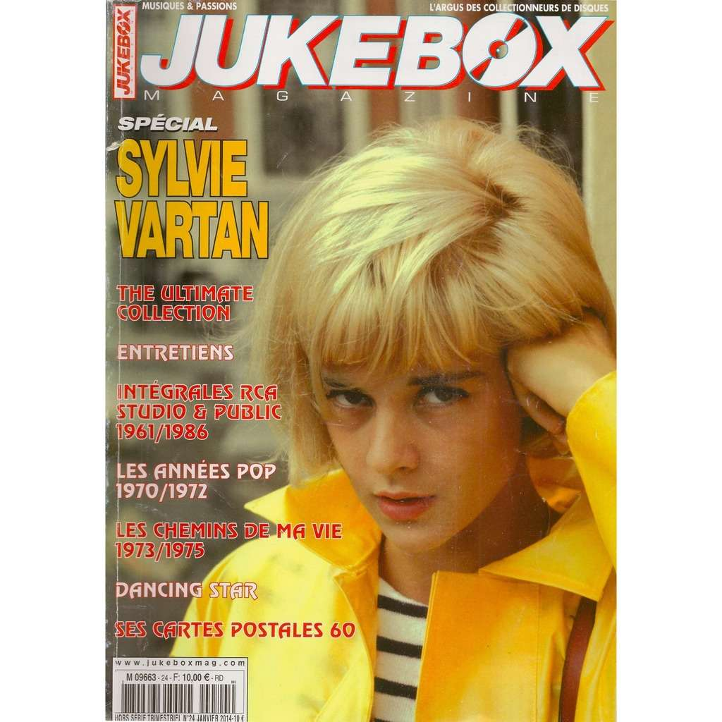 sylvie vartan jukebox n° 24