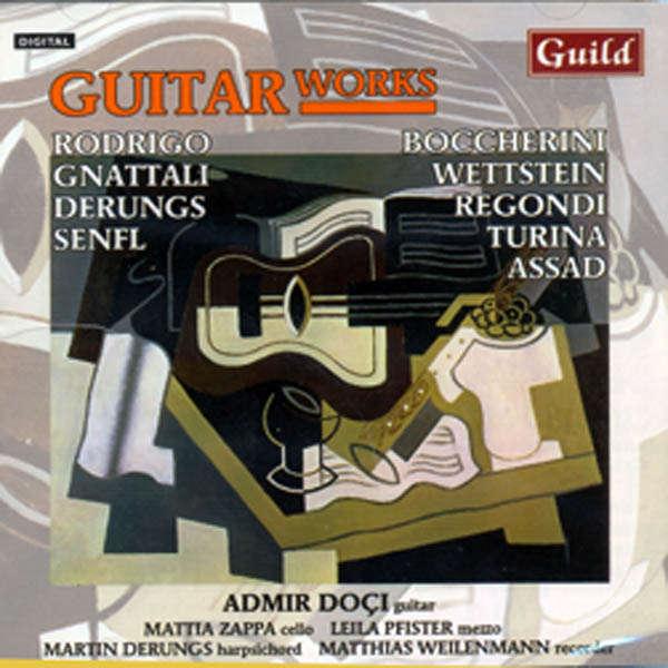 Admir Doci, guitare Guitar works