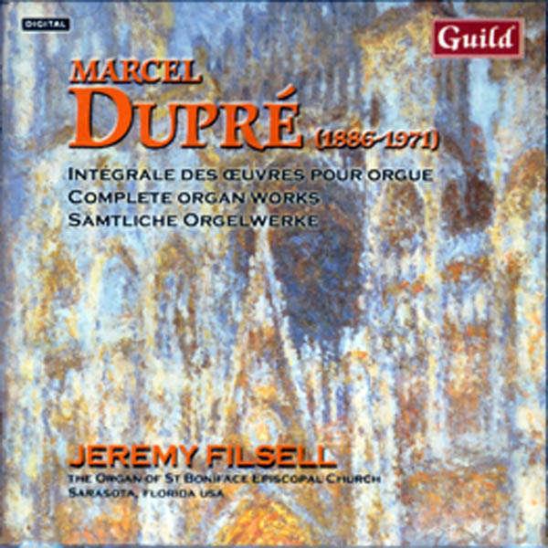 Jeremy Filsell à l'orgue St.Boniface de Sarasota Marcel Dupré Intégrale des œuvres pour orgue