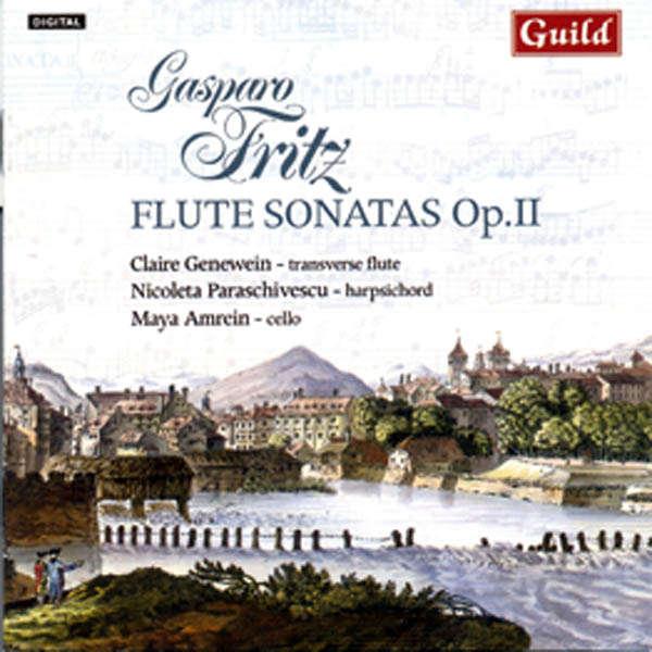 Claire Genewein, flûte Gasparo Fritz : Flute sonatas